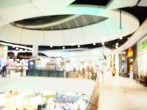 Запачканный интерьер торгового центра Современная концепция здания стоковые фотографии rf