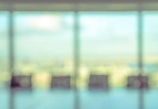 Запачканный конференц-зал для предпосылки Стоковая Фотография