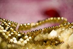 Запачканный пинк и золото Стоковая Фотография RF