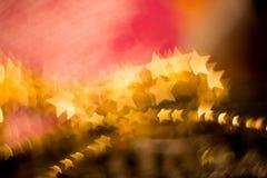 Запачканный пинк и золото Стоковое Фото