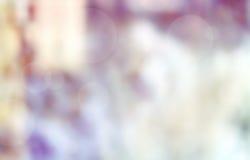 Запачканный пинк предпосылки, белизна, пурпур, горизонтальный ландшафт Стоковые Изображения RF