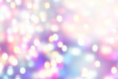 Запачканный праздник освещает предпосылку света bokeh нерезкости enhaced рождеством Стоковое Фото
