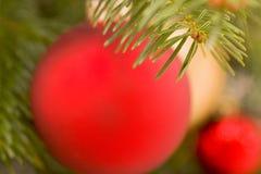 запачканный предпосылкой вал украшений рождества Стоковые Фотографии RF