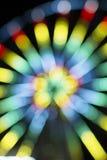 Запачканный радиант bokeh света предпосылки Стоковая Фотография