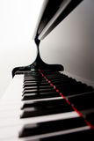 запачканный рояль ключей Стоковые Фото