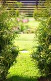 Запачканный сад весны стоковые изображения rf