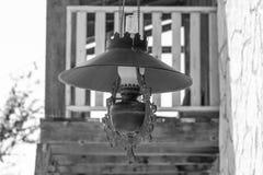 Западная лампа стоковая фотография