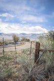 Западная высокая загородка пустыни Стоковое Фото