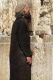 Западная деталь Иерусалима стены билетов молитве стоковое изображение rf
