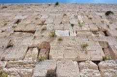 Западная стена в Иерусалиме Израиле стоковое фото