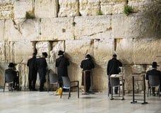 Западная стена в старом городе Иерусалима, Израиля стоковые фотографии rf