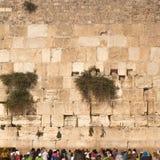 Западная стена, Kotel или голося стена Стоковая Фотография RF