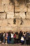 Западная стена, Kotel или голося стена Стоковое Изображение