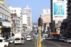 Западная улица в Дурбане Южной Африке стоковые фото