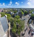 Западная церковь в Амстердаме, Нидерландах Стоковые Изображения