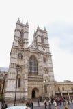 Западное аббатство монастырской церкви, Англия Стоковое Фото