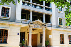 Западное здание стиля XIX века в Shamian Стоковое Изображение