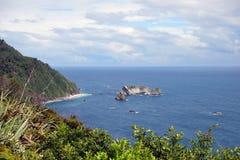 Западное побережье Новой Зеландии Стоковое фото RF