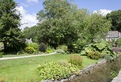 Западные сады Англии симпатичные Стоковое Фото