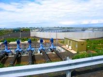 Западный завод по обработке Werribee Стоковое Фото