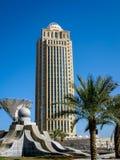Западный залив в Дохе, Катаре Стоковые Фотографии RF