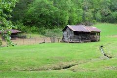 Западный курятник горы страны NC Стоковая Фотография