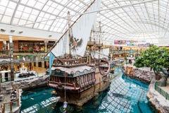 Западный мол Эдмонтона в Альберте, Канаде Стоковая Фотография