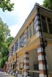 Западный дом стиля в shamian сценарном Стоковое Изображение RF