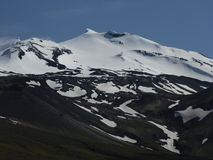 Западный полуостров Исландия - ледник Стоковое Фото