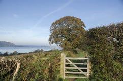 Западный путь Уэльса прибрежный Стоковая Фотография RF