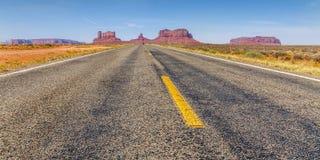 Западный путь Стоковые Фотографии RF