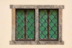 Запертый дом Windows Стоковая Фотография