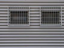 2 запертых окна Стоковые Фото