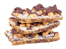 запирает арахис шоколада Стоковая Фотография RF