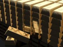 запирает золото Стоковое Изображение RF