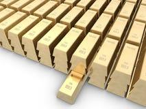 запирает золото Стоковое Изображение