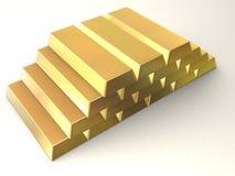 запирает золото Стоковые Изображения