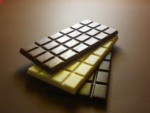 запирает поле глубины шоколада отмелое Стоковое Изображение RF