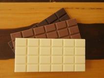 запирает поле глубины шоколада отмелое Стоковое Фото