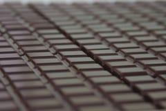 запирает поле глубины шоколада отмелое Стоковое фото RF