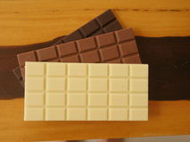 запирает поле глубины шоколада отмелое Стоковые Фотографии RF