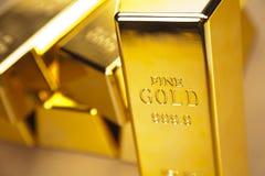запирает фото золота Стоковая Фотография RF