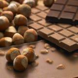 запирает шоколад Стоковая Фотография