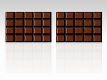 запирает шоколад Стоковые Фотографии RF