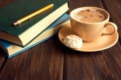 записывает кофе Стоковое фото RF