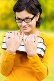 записывает портрет девушки Стоковые Фотографии RF