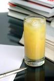 записывает сок Стоковое фото RF