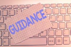 Запись примечания показывая наведение Совет или данные по фото дела showcasing направили на разрешая проблему или затруднение стоковая фотография rf