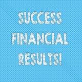 Запись примечания показывая финансовые результаты успеха Количество фото дела showcasing выгоды компания делает во время периода иллюстрация вектора