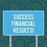 Запись примечания показывая финансовые результаты успеха Количество фото дела showcasing выгоды компания делает во время a иллюстрация вектора